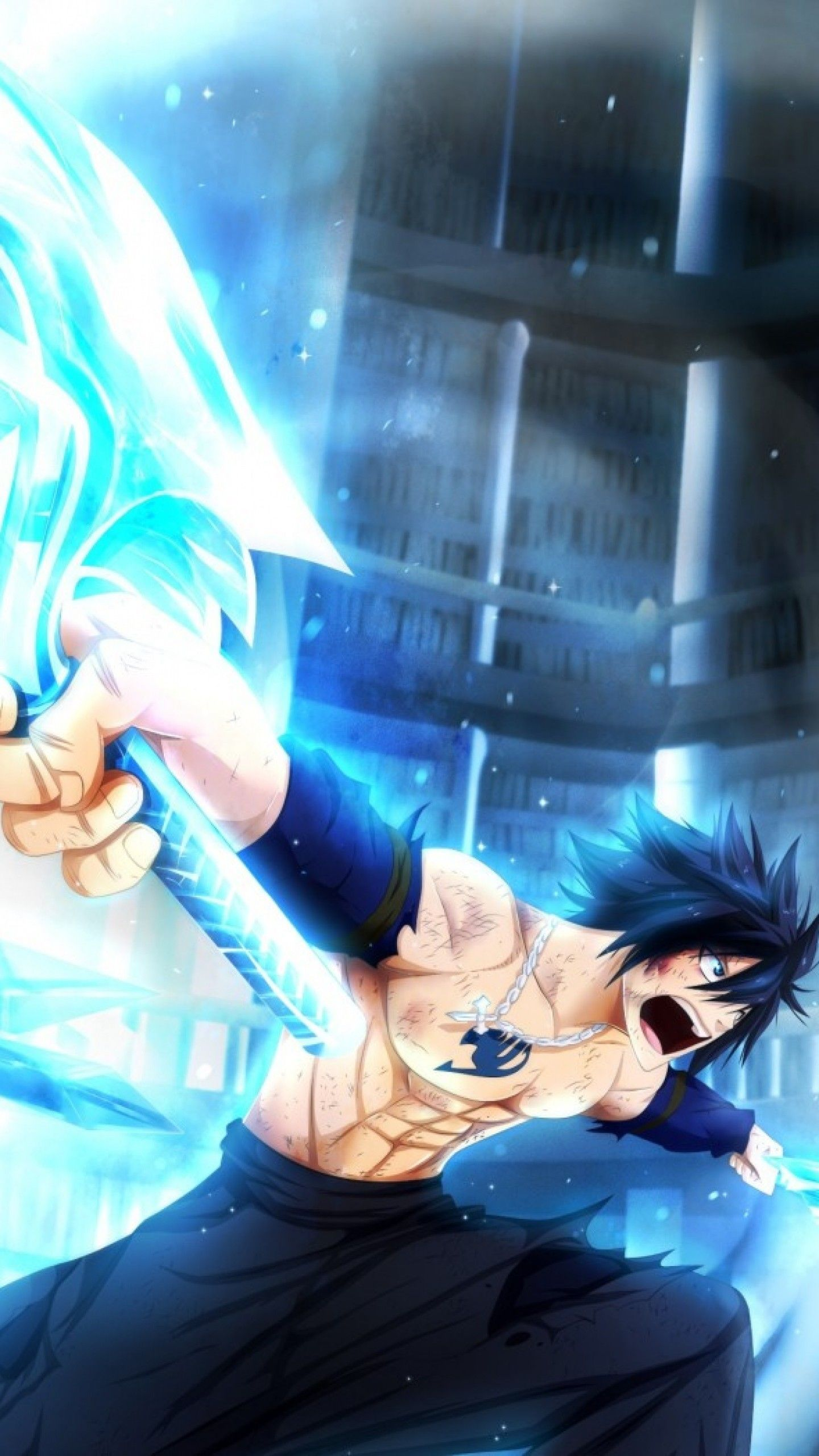 Fairy Tail Gray Fullbuster Wallpapers