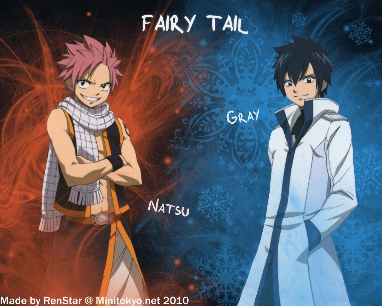 Gray Fullbuster And Natsu Dragneel, Hd Wallpapers & backgrounds