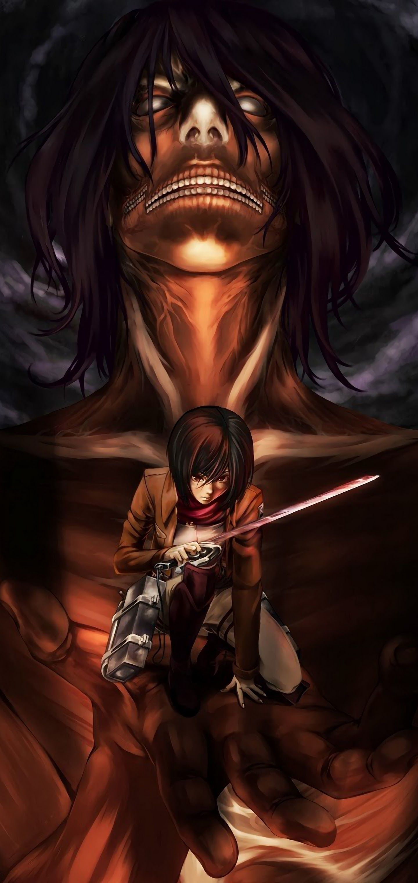 Attack On Titan Smartphone Wallpapers - Wallpaper Cave