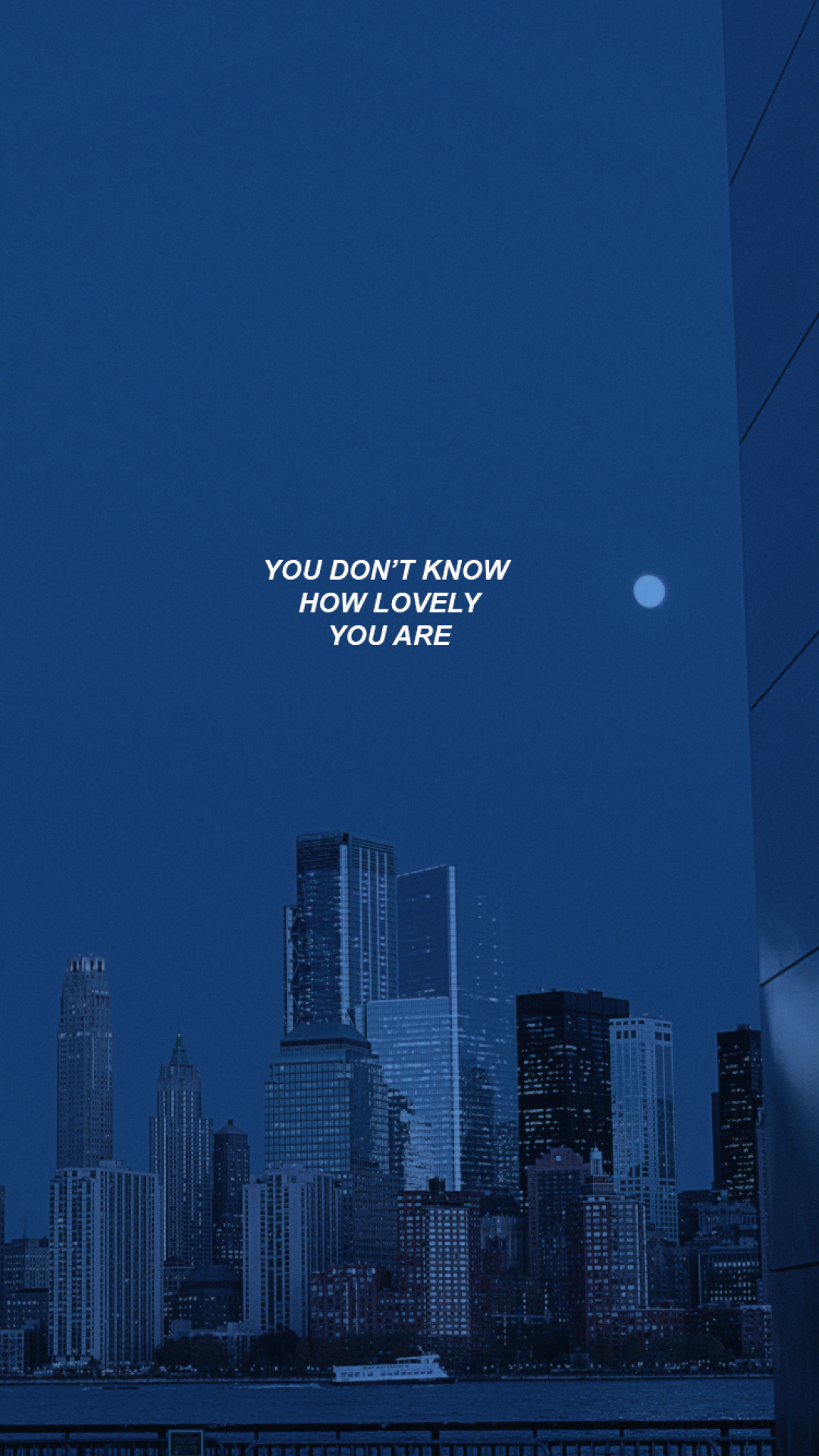 Aesthetic Blue City Wallpapers - Wallpaper Cave