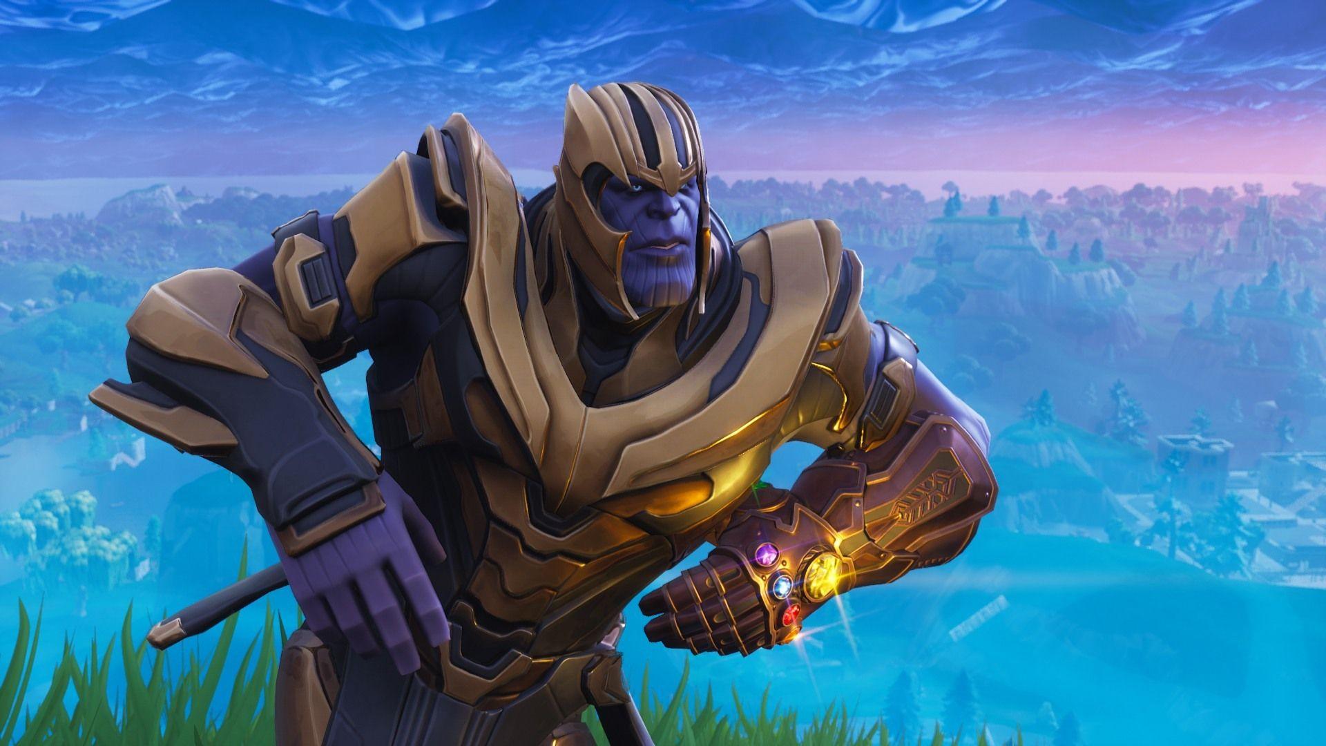 Fortnite Thanos Memes Wallpapers Wallpaper Cave