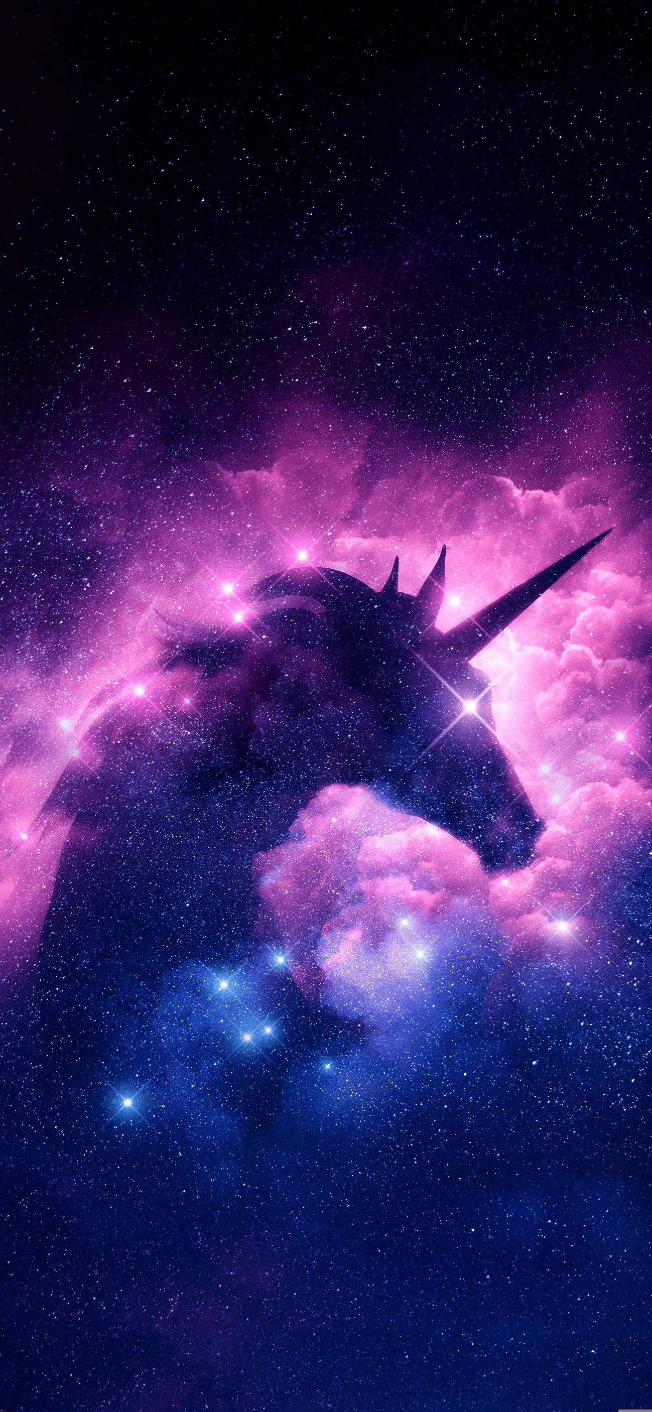 Space Unicorn Wallpapers Wallpaper Cave