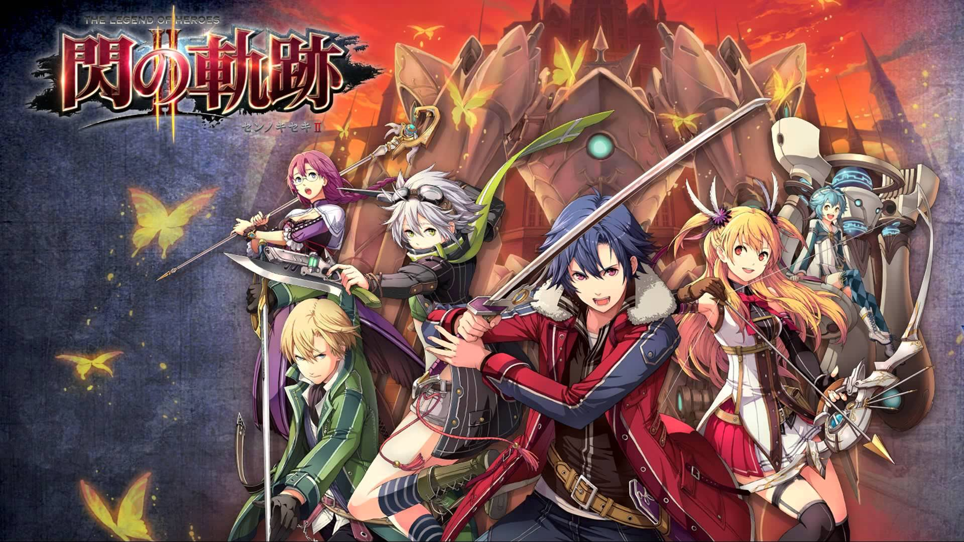 The Legend Of Heroes Trails Of Cold Steel Wallpapers Wallpaper Cave