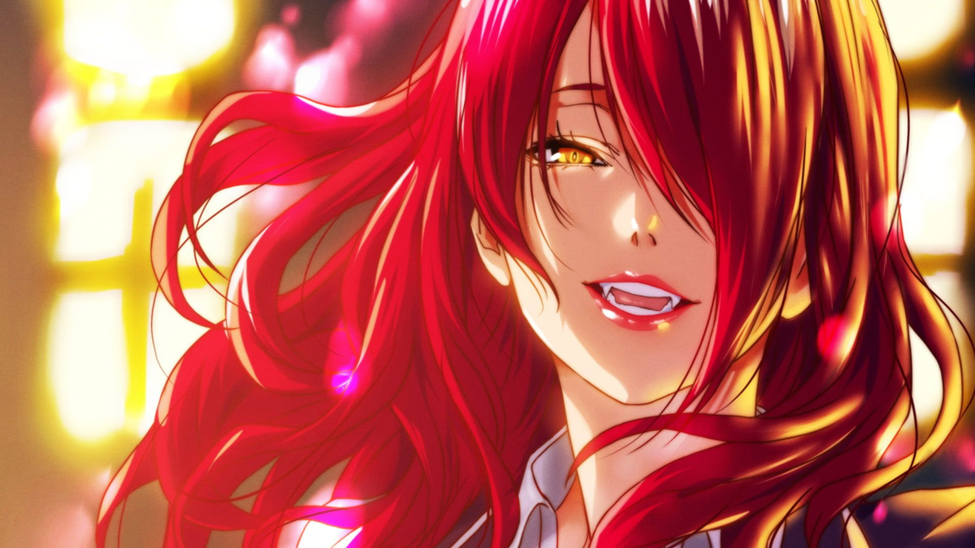 Red Head Anime Wallpapers - Wallpaper Cave