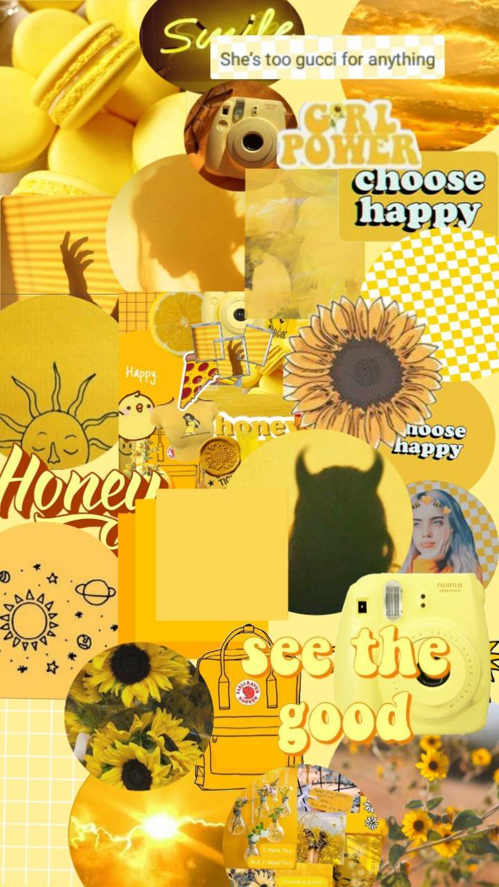 yellow aesthetic picture wallpapers