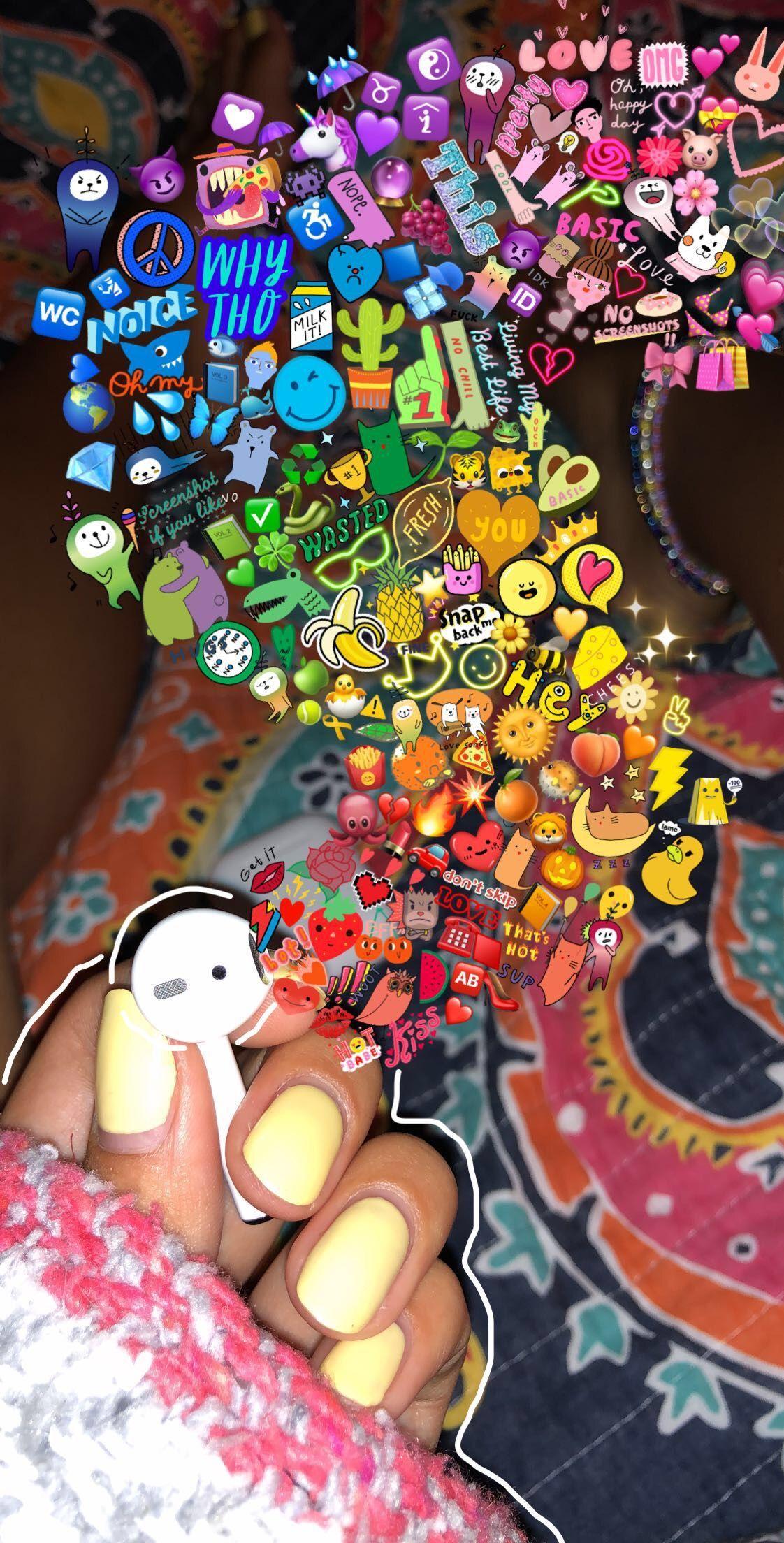 Aesthetic Emoji Wallpapers Wallpaper Cave