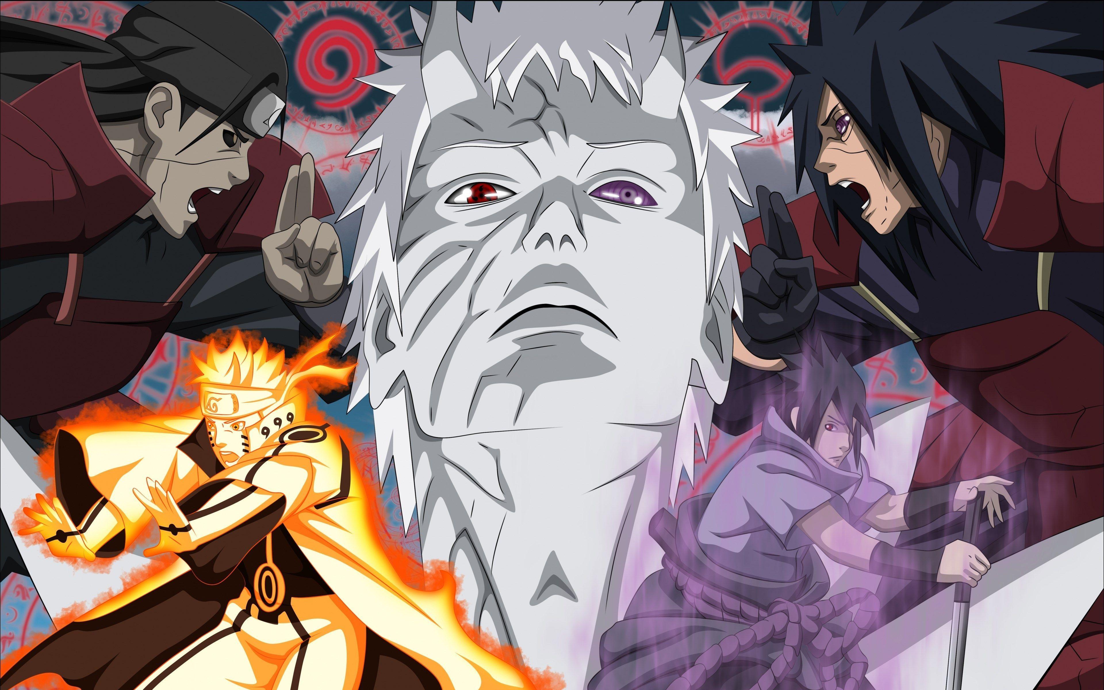 Anime 4k Naruto Shippuden Wallpapers Wallpaper Cave