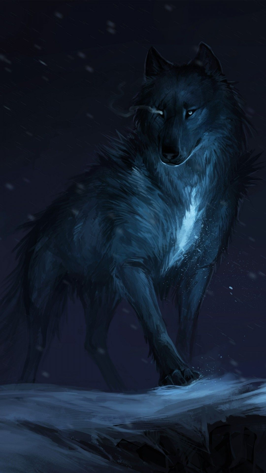 Anime Alpha Wolf Wallpapers Wallpaper Cave