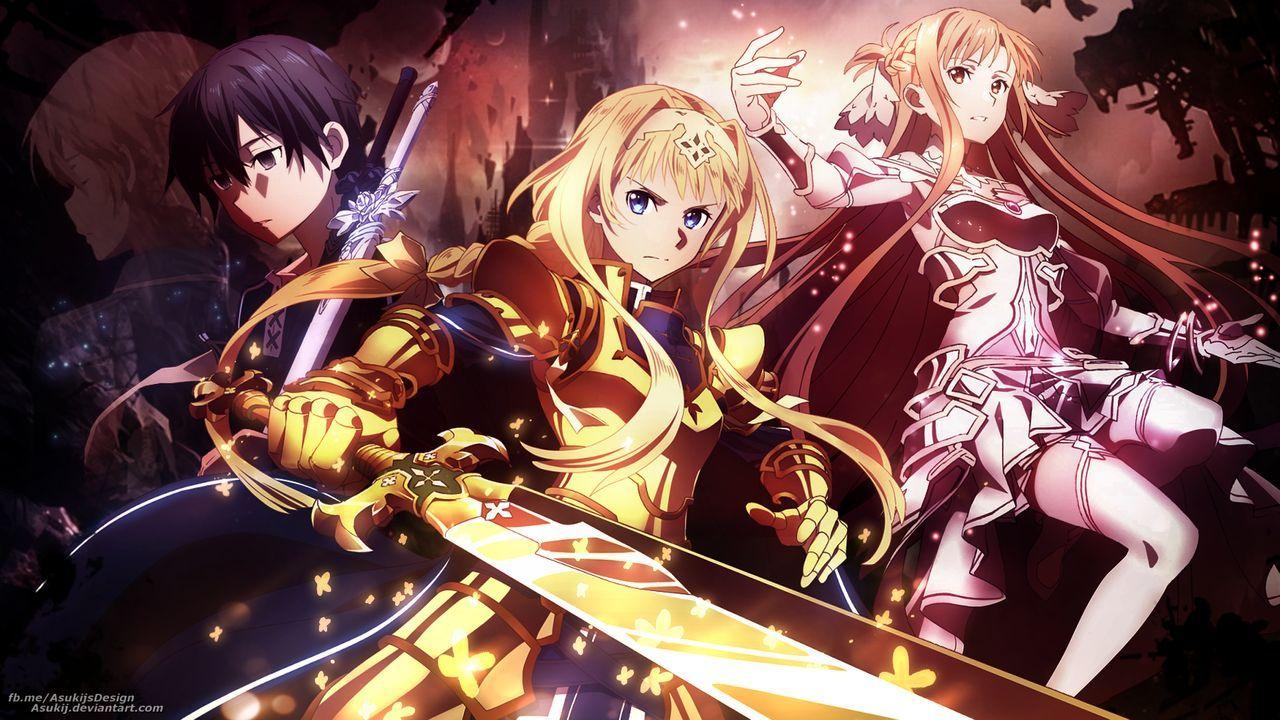 Sword Art Online Alicization War Of Underworld Wallpapers Wallpaper Cave