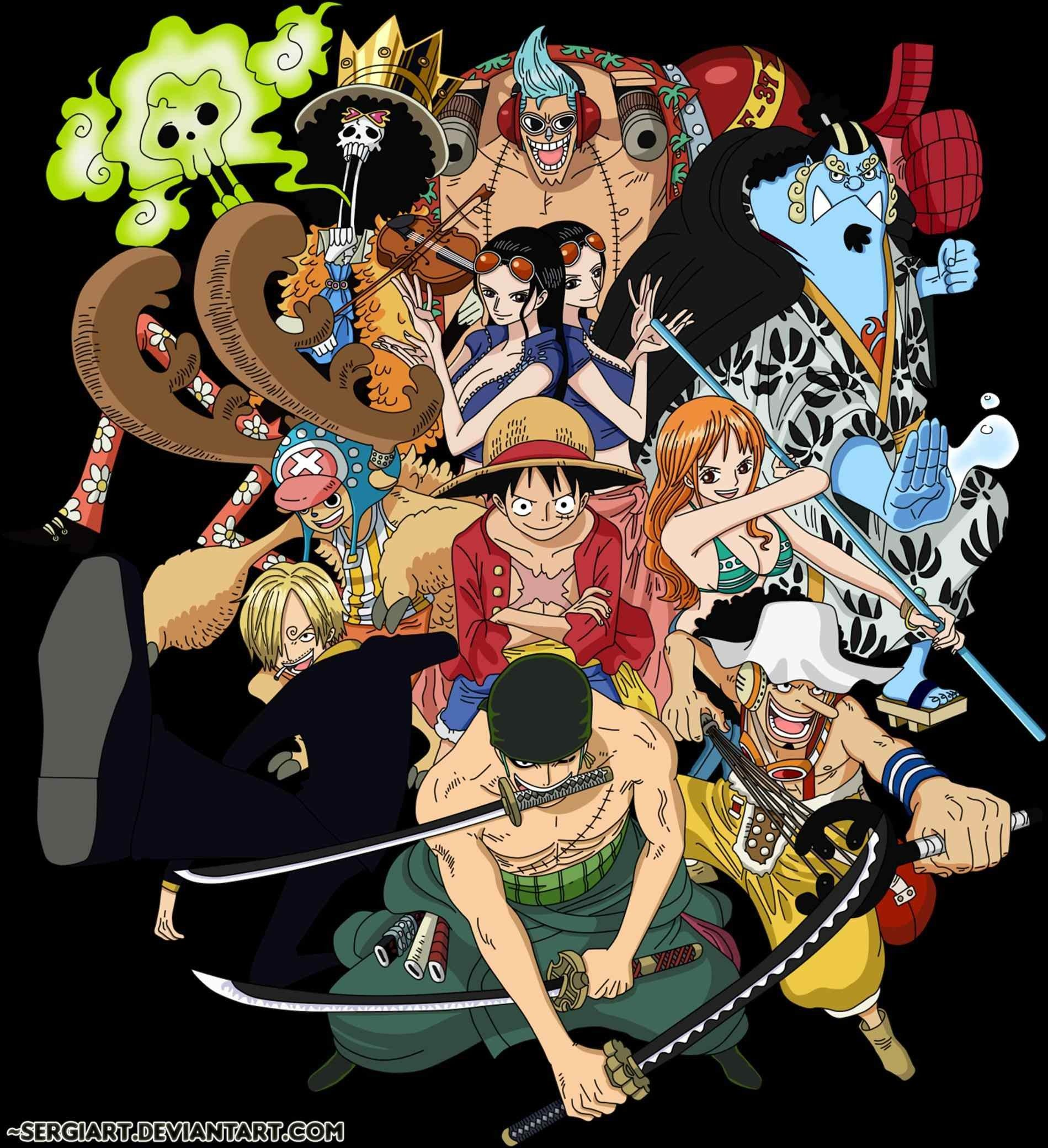 Straw Hat Crew Phone HD Wallpapers - Wallpaper Cave