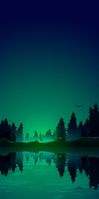 Dark Green Iphone Wallpapers Wallpaper Cave
