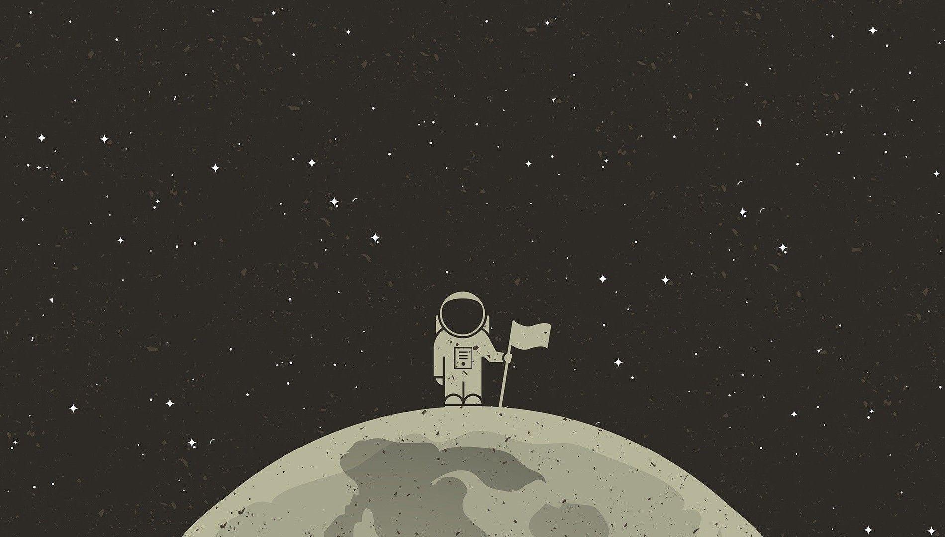 desktop astronaut aesthetic wallpapers