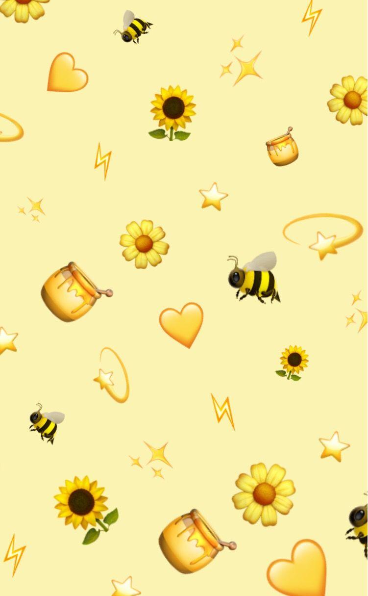 aesthetic honey wallpapers