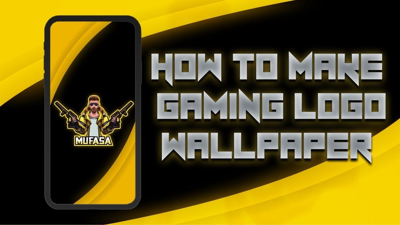 How To Make Gaming Logo Wallpapers On Android