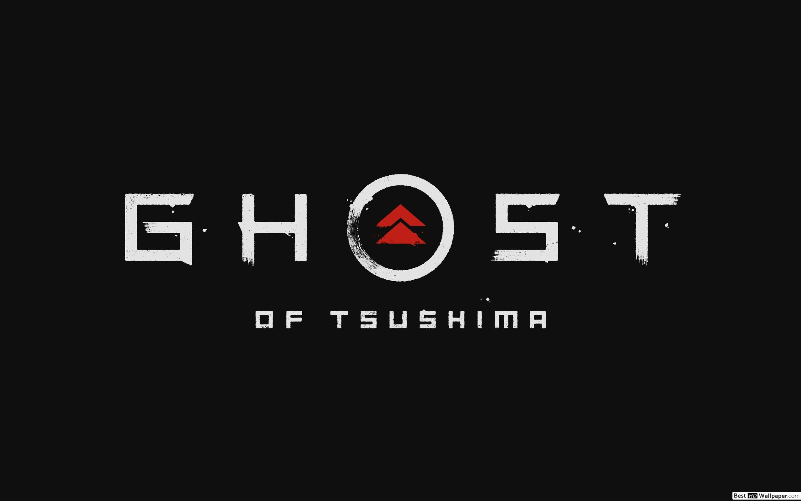 Ghost of Tsushima 2019 LOGO HD wallpapers download