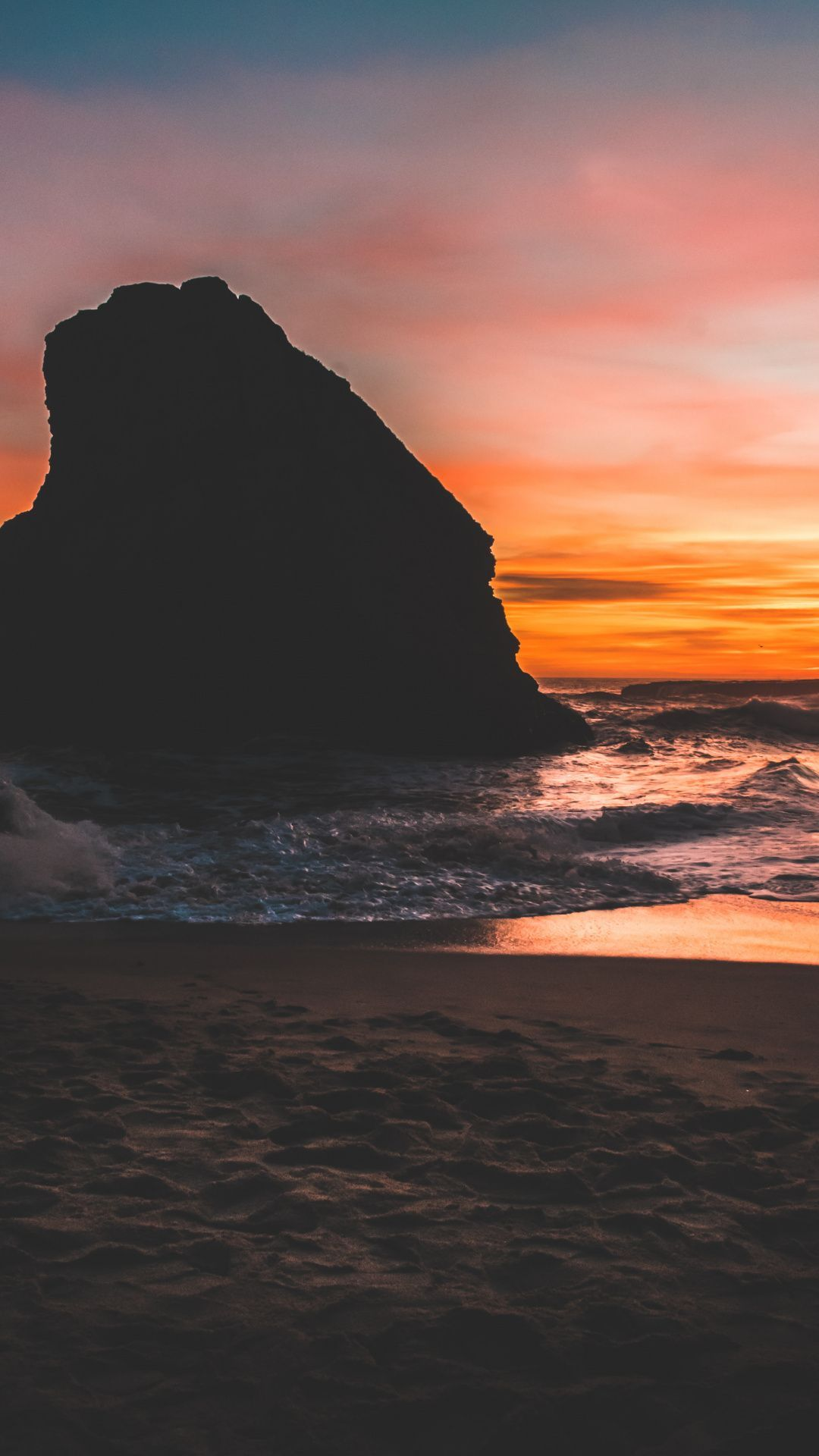 Aesthetic Beach Sunset Wallpapers Wallpaper Cave