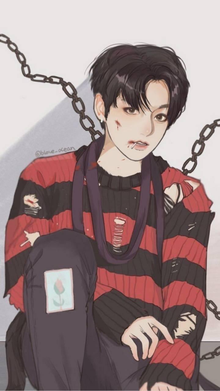 BTS Jungkook Anime Wallpapers - Wallpaper Cave
