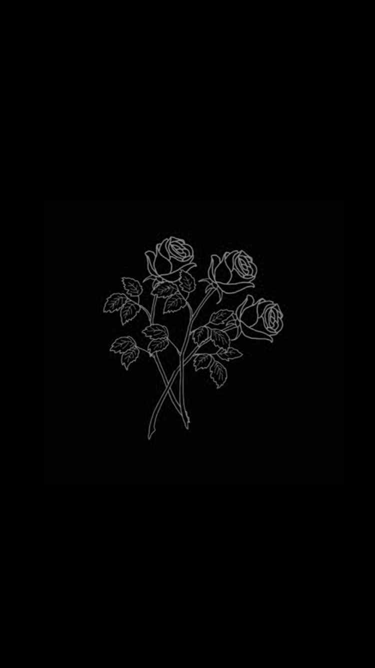 Roses Aesthetic Black PS4 Wallpapers - Wallpaper Cave
