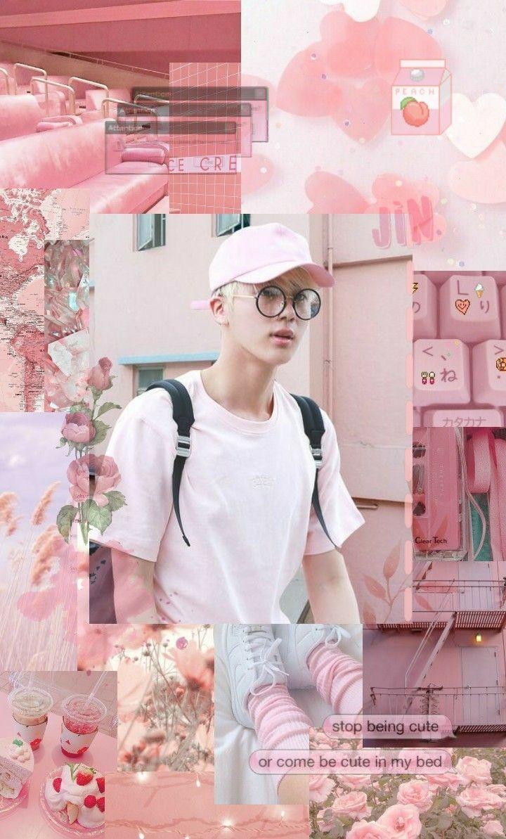 Bts Cute Jin Wallpapers Wallpaper Cave