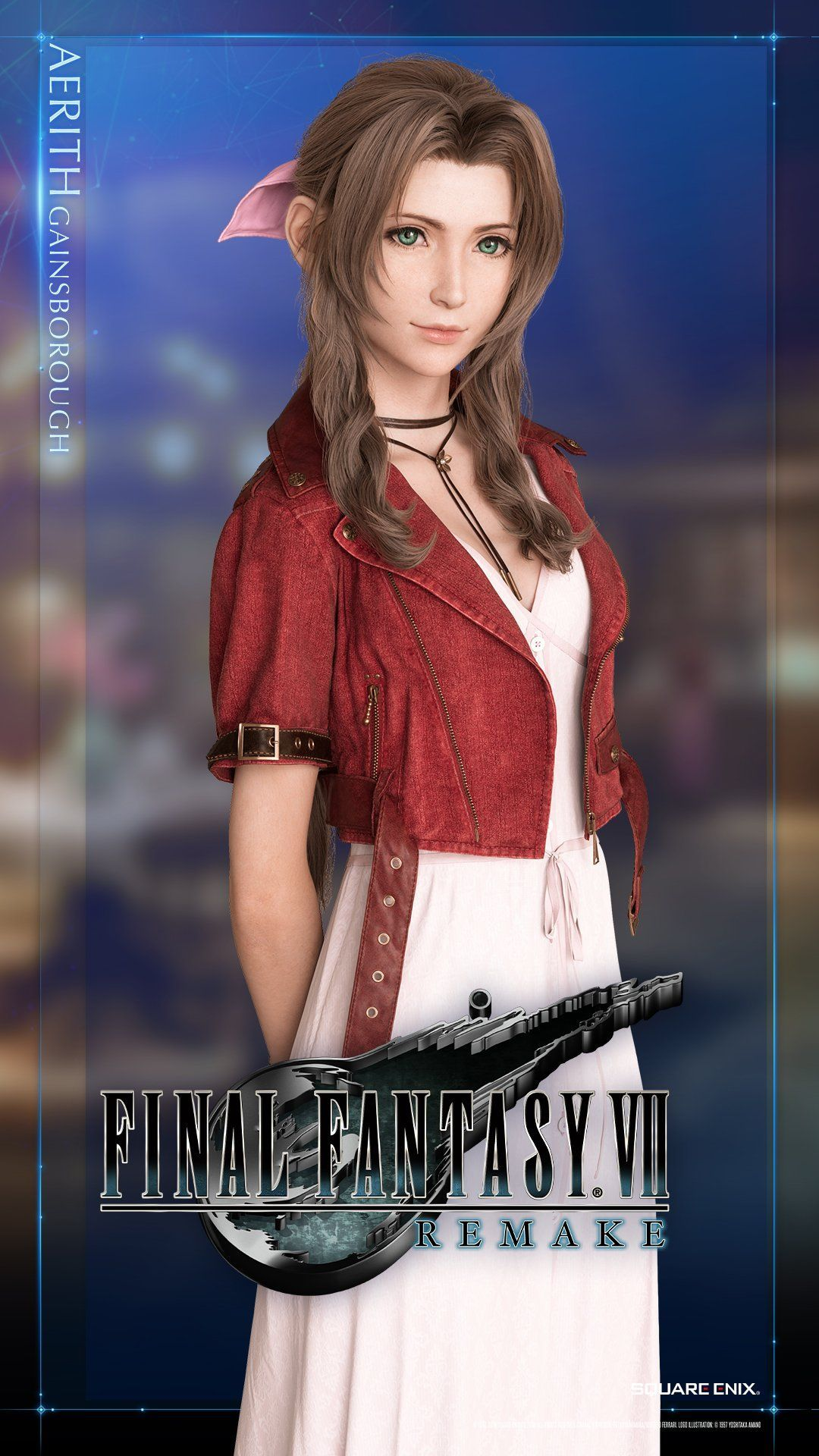 Aerith Final Fantasy 7 Remake Wallpapers Wallpaper Cave
