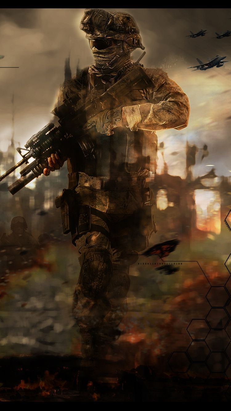 Call Of Duty Modern Warfare 2 Remastered Wallpapers Wallpaper Cave