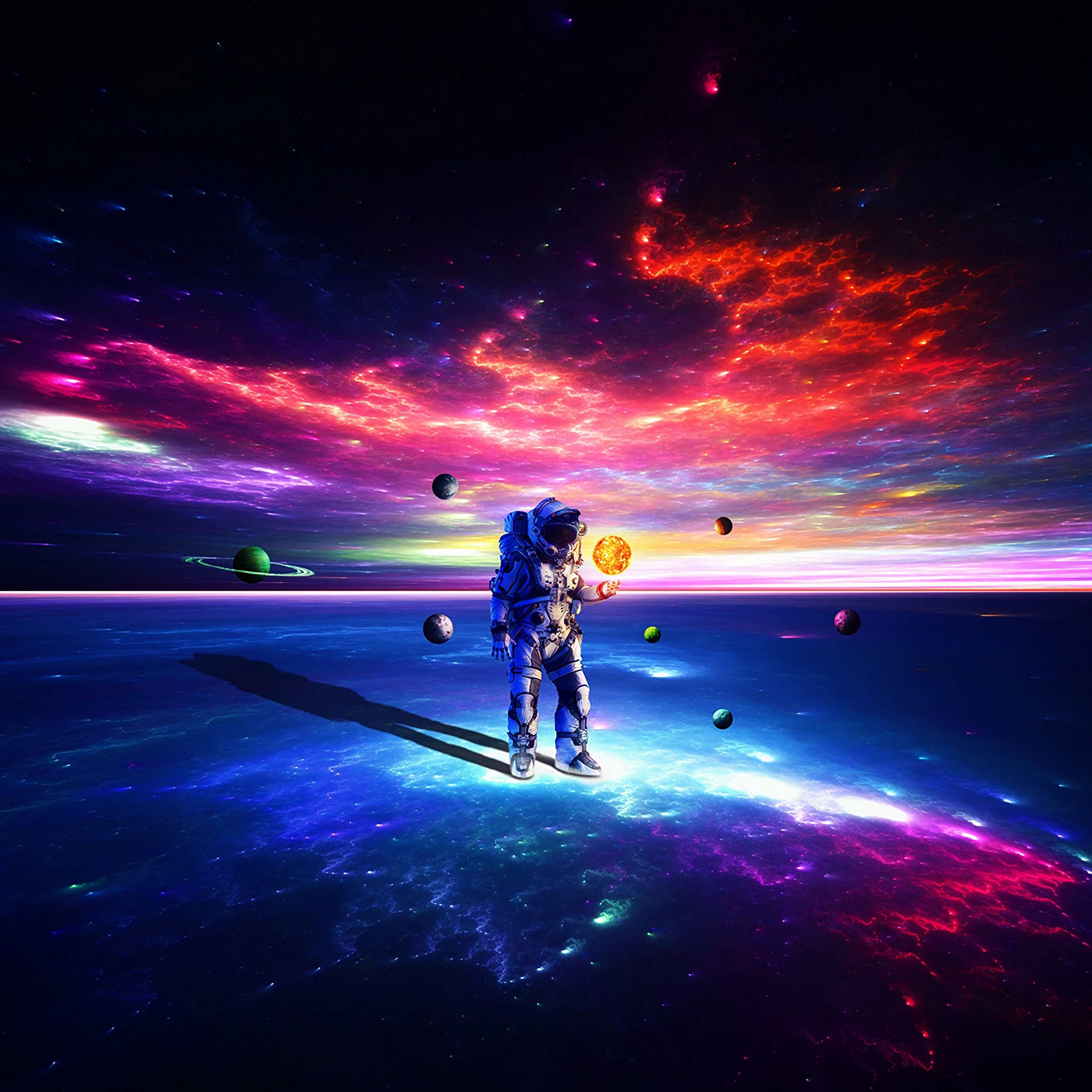Astronaut Space Screensaver Anime Wallpapers Wallpaper Cave