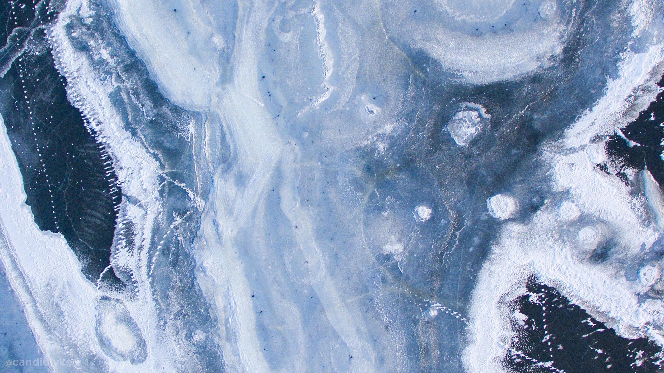 Macbook Blue Aesthetics Wallpapers Wallpaper Cave