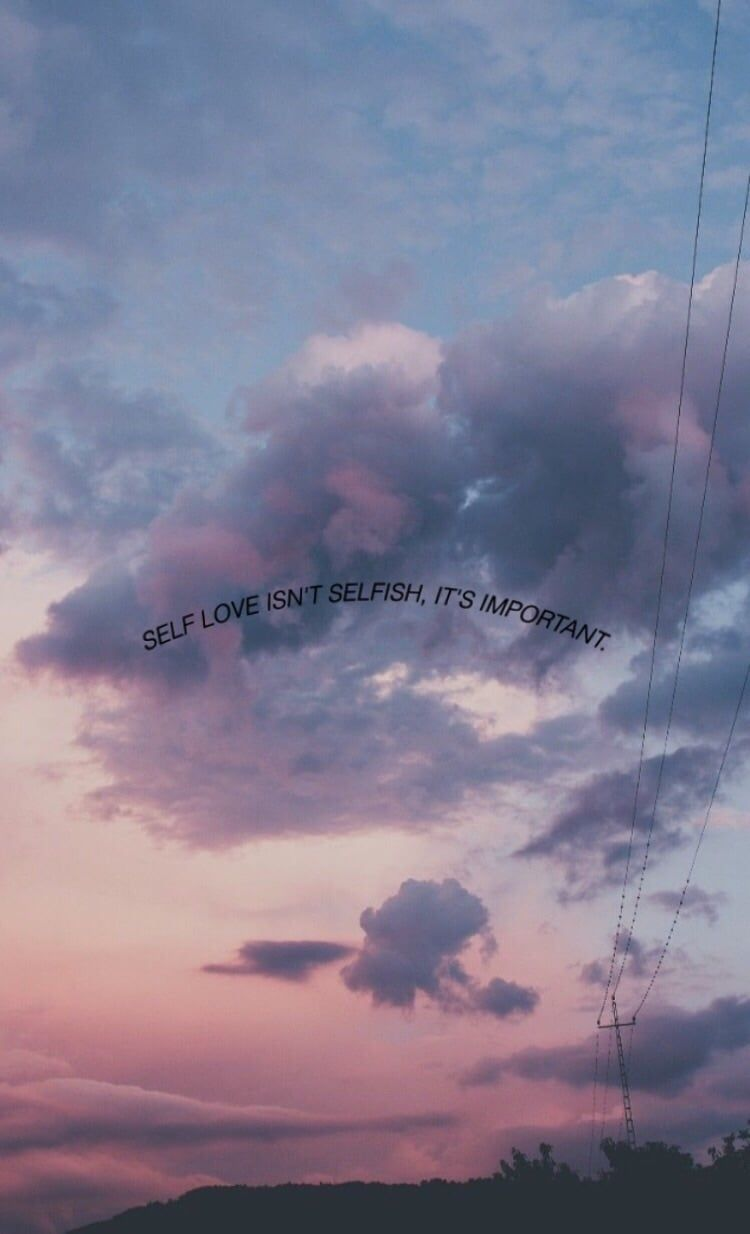 Aesthetic Love Quotes Wallpapers Wallpaper Cave