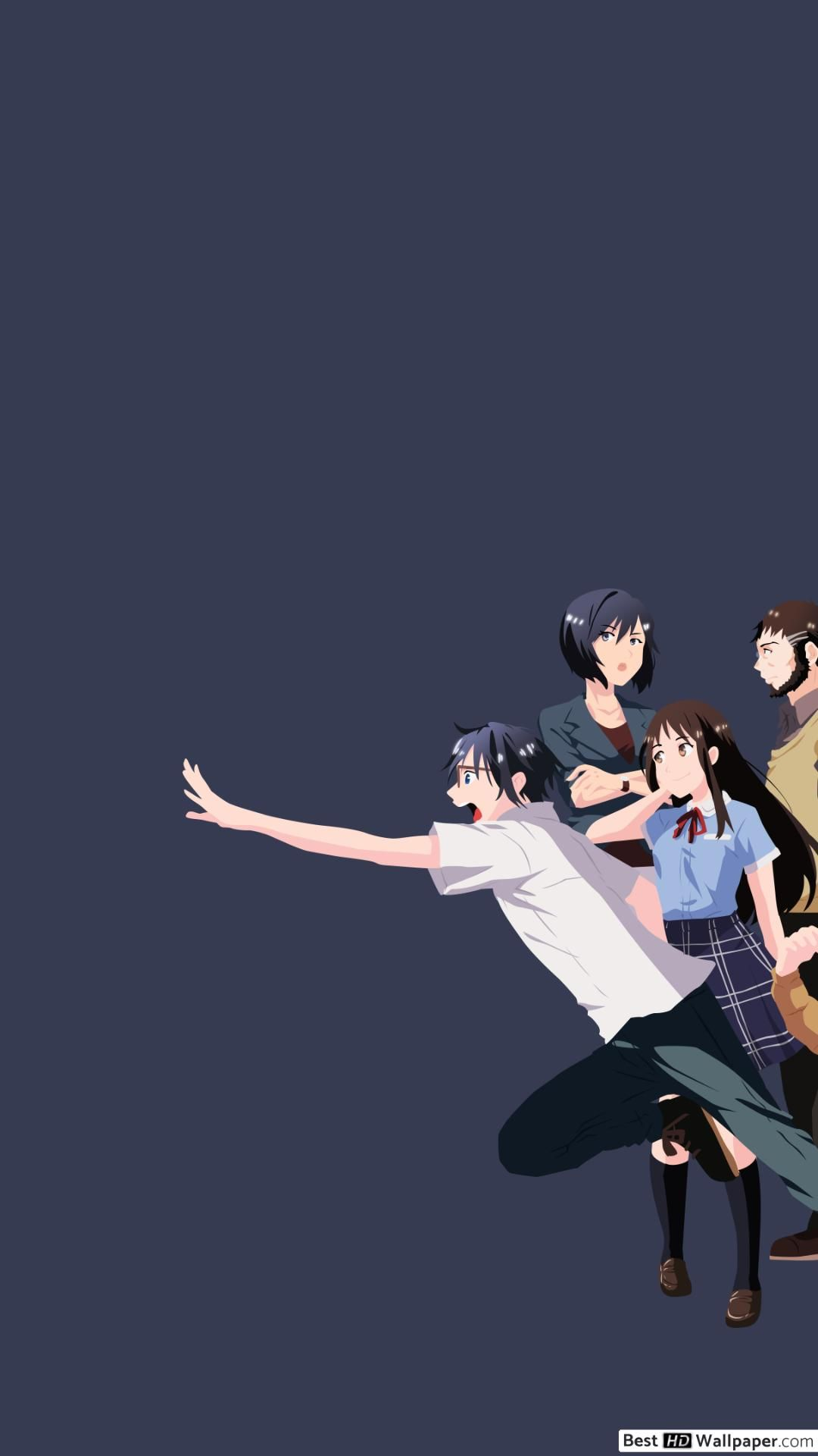 Erased Anime Wallpapers - Wallpaper Cave