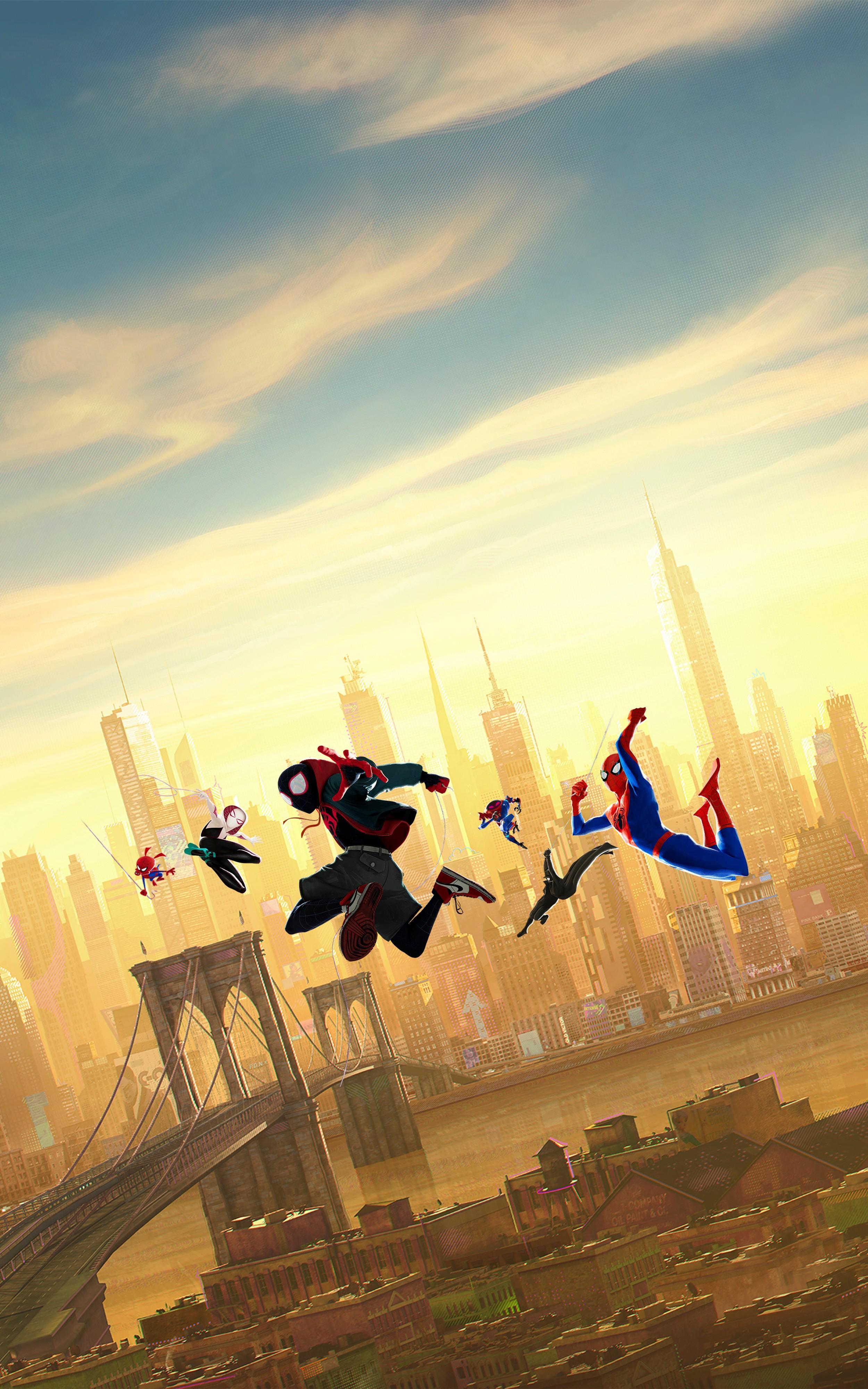 Spider Man Into The Spider Verse Android Wallpapers ...