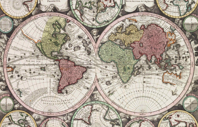 World Map Atlas Full HD Desktop Wallpapers - Wallpaper Cave