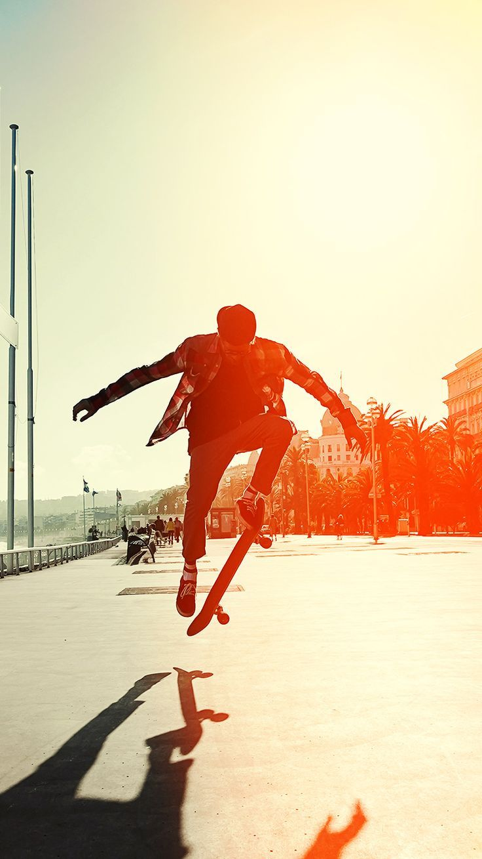 Skateboard Hd Iphone Wallpapers Wallpaper Cave