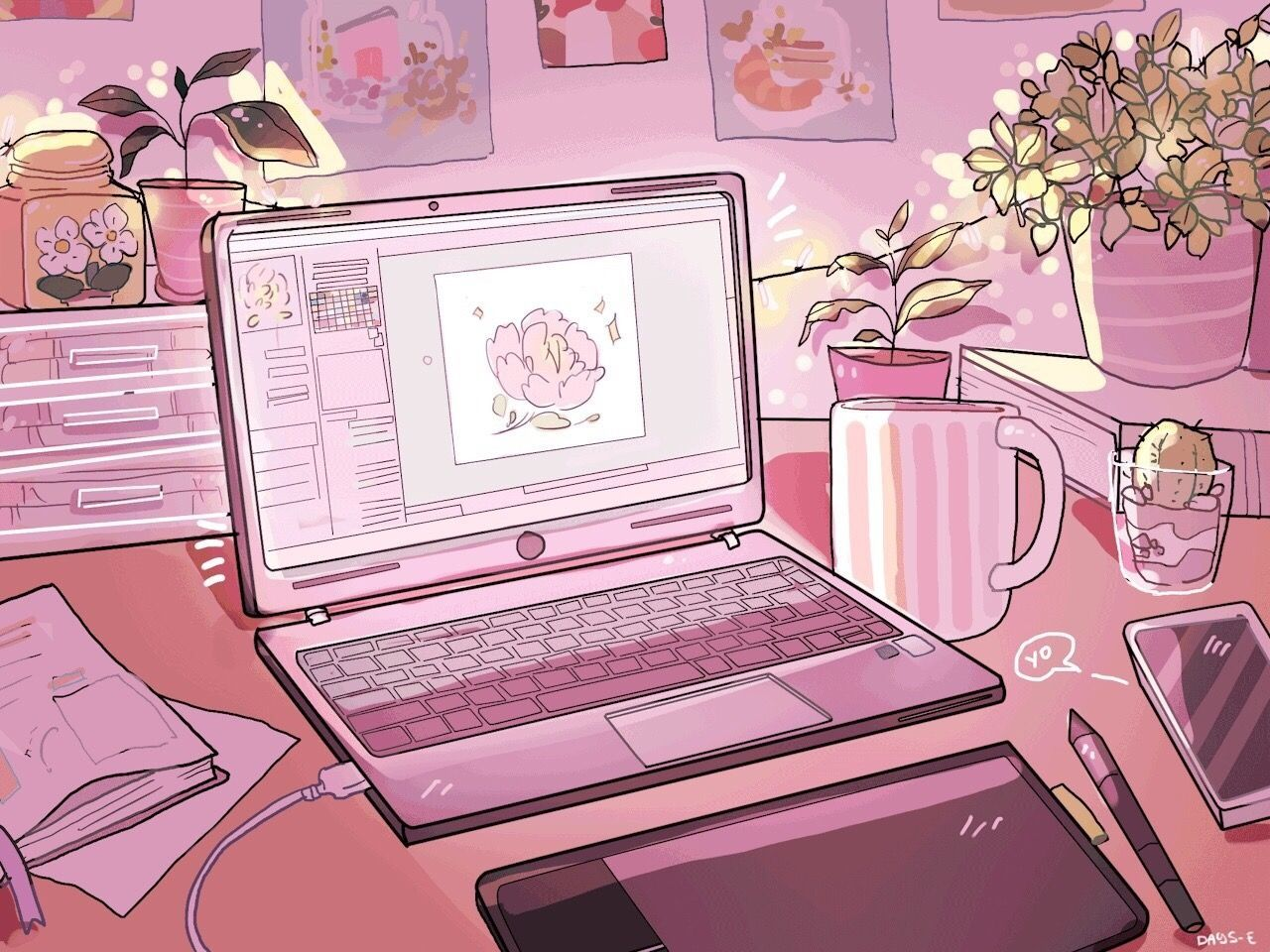 90s Anime Aesthetic Laptop Wallpapers Wallpaper Cave