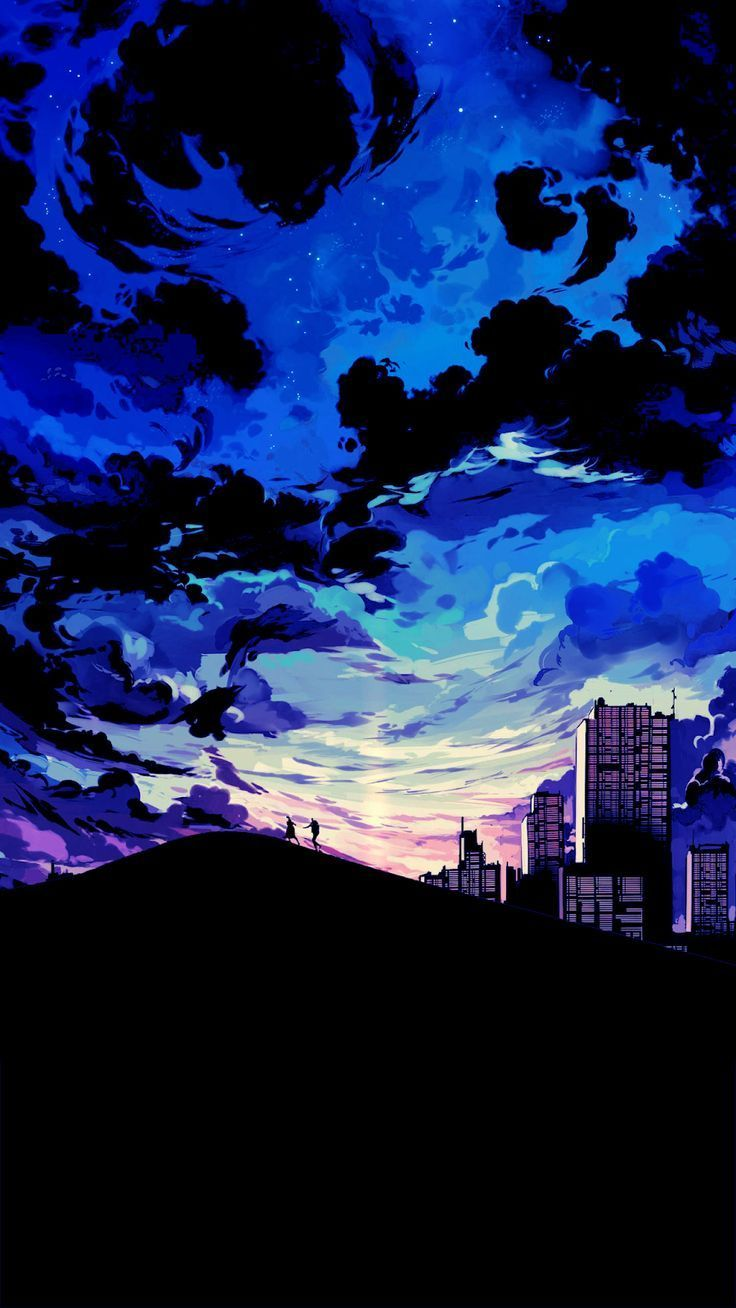 Cool Anime Sunset Wallpapers Wallpaper Cave