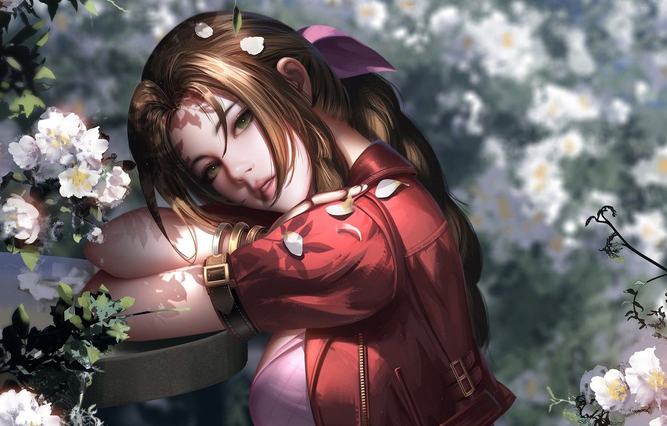 Aerith Final Fantasy 7 Remake Wallpapers - Wallpaper Cave