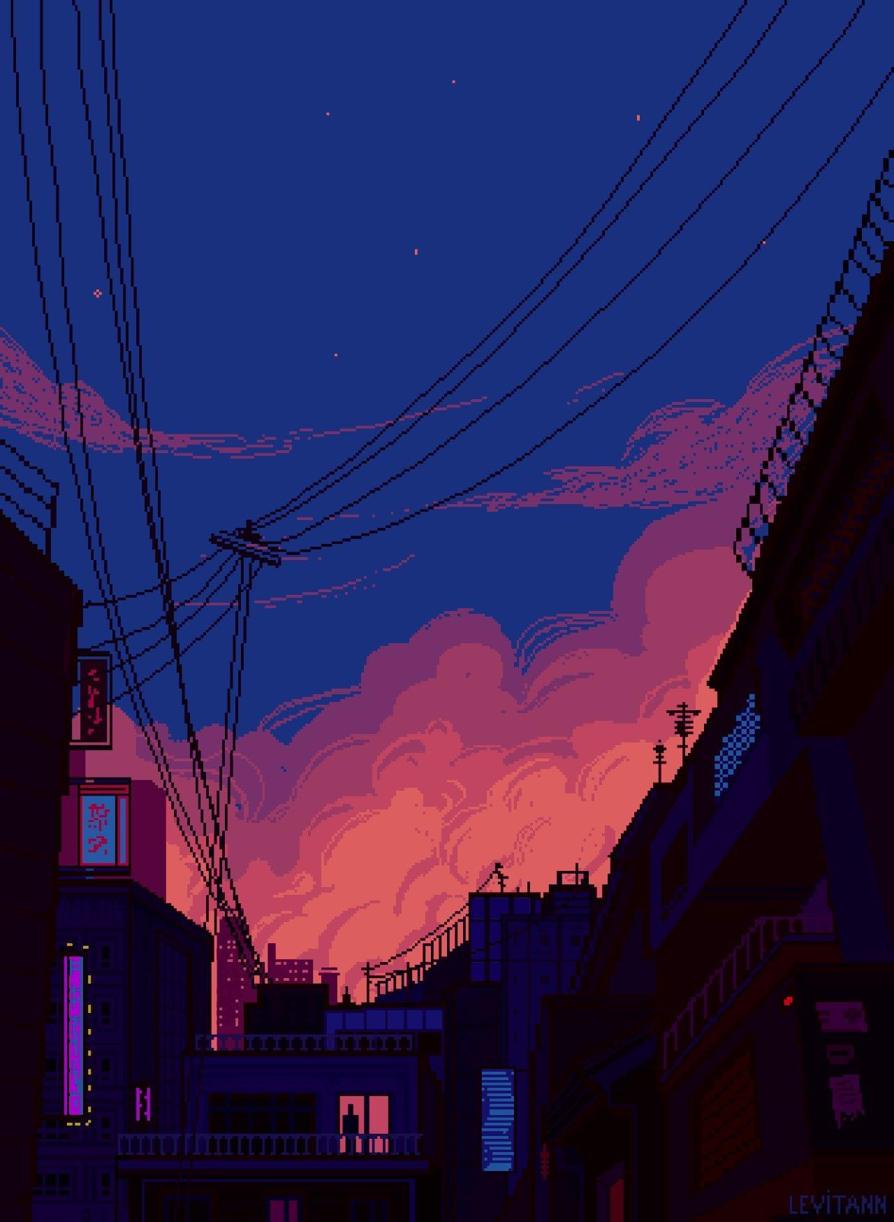 anime aesthetic painting wallpapers