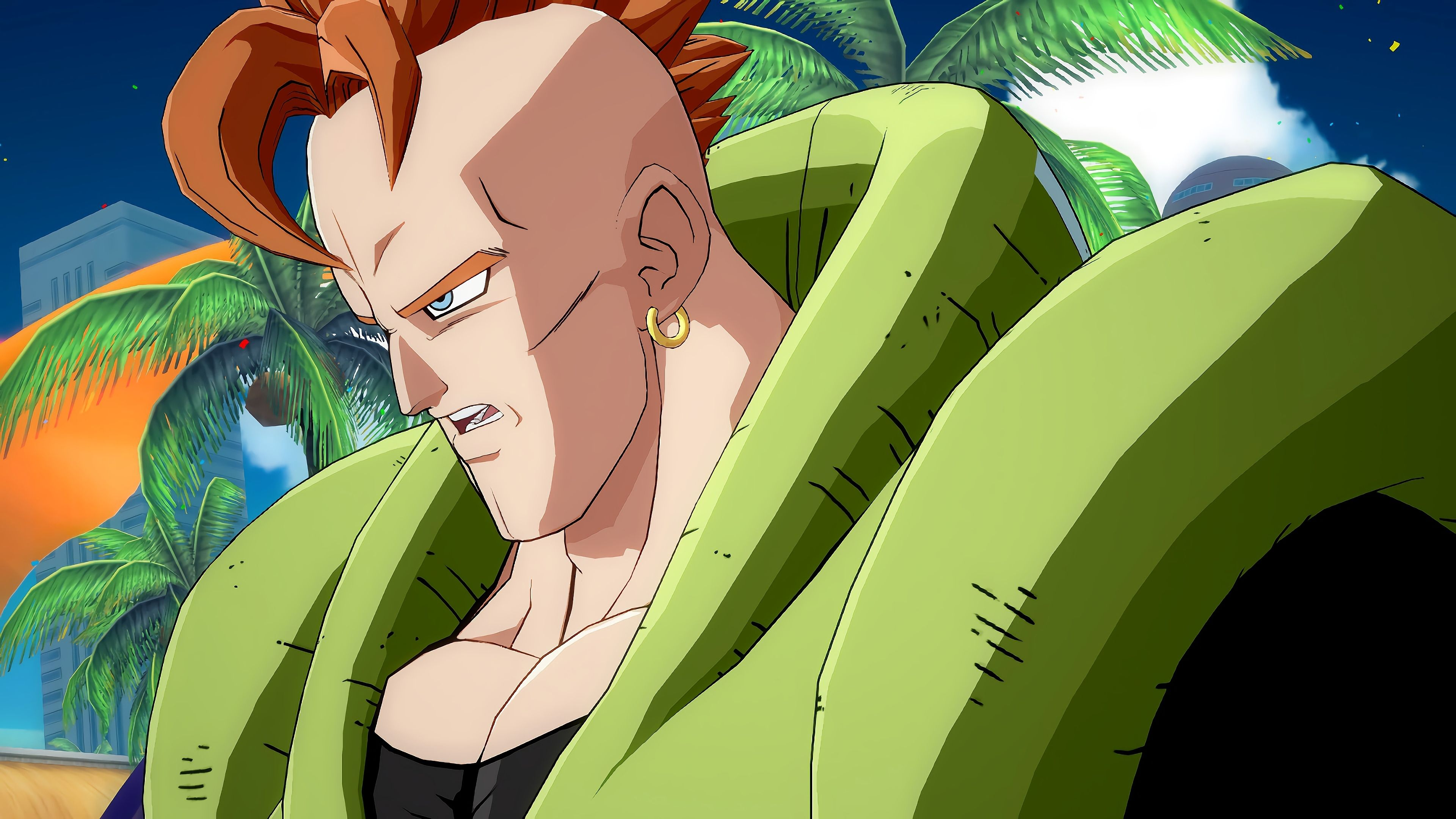 Android 16 Dragon Ball Z HD Wallpapers - Wallpaper Cave