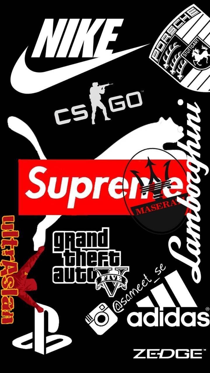 Supreme Nike Wallpapers - Wallpaper Cave