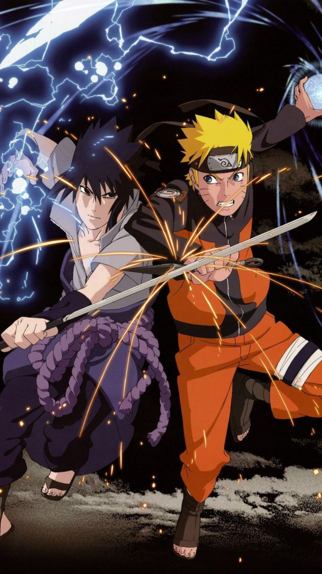 Naruto Vs Sasuke iPhone Wallpapers - Wallpaper Cave