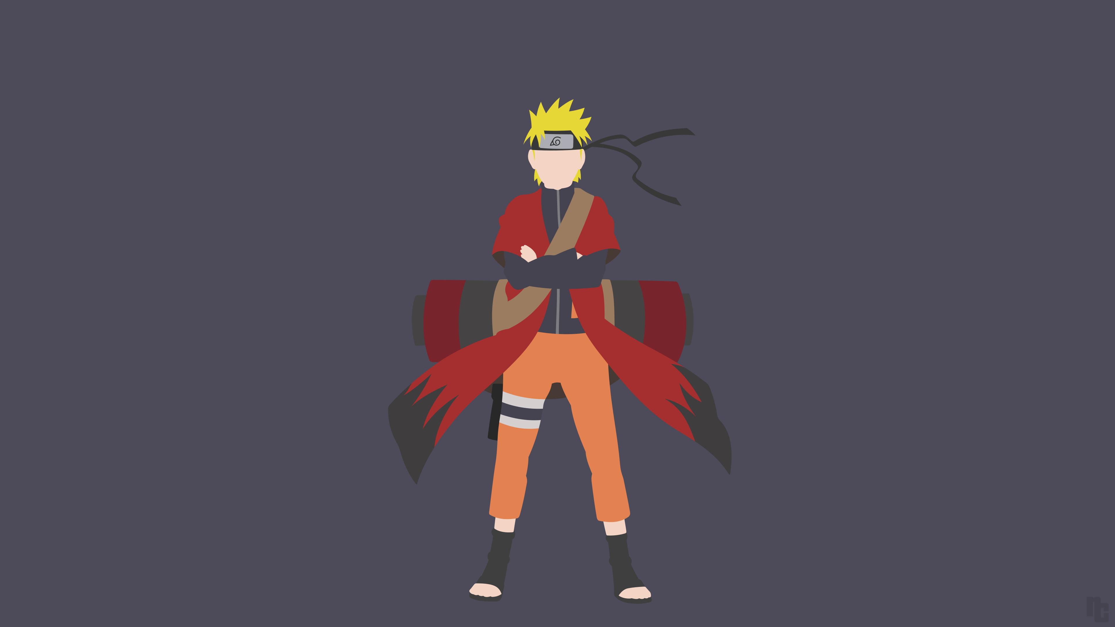 Minimalist Naruto Wallpapers - Wallpaper Cave