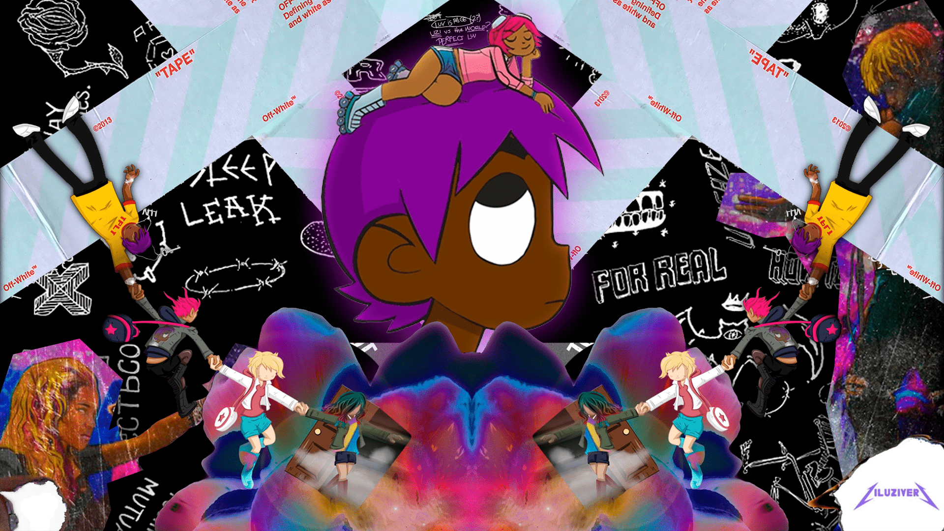 Lil Uzi Vert Vs The World 2 Desktop Wallpapers Wallpaper Cave Symere woods popularly knows as lil uzi vert, is a 25 years old american rapper, producer and a songwriter from philadelphia. lil uzi vert vs the world 2 desktop