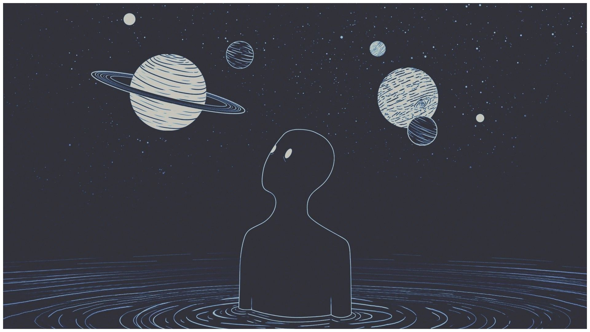 Aesthetic Space Desktop Wallpapers - Wallpaper Cave