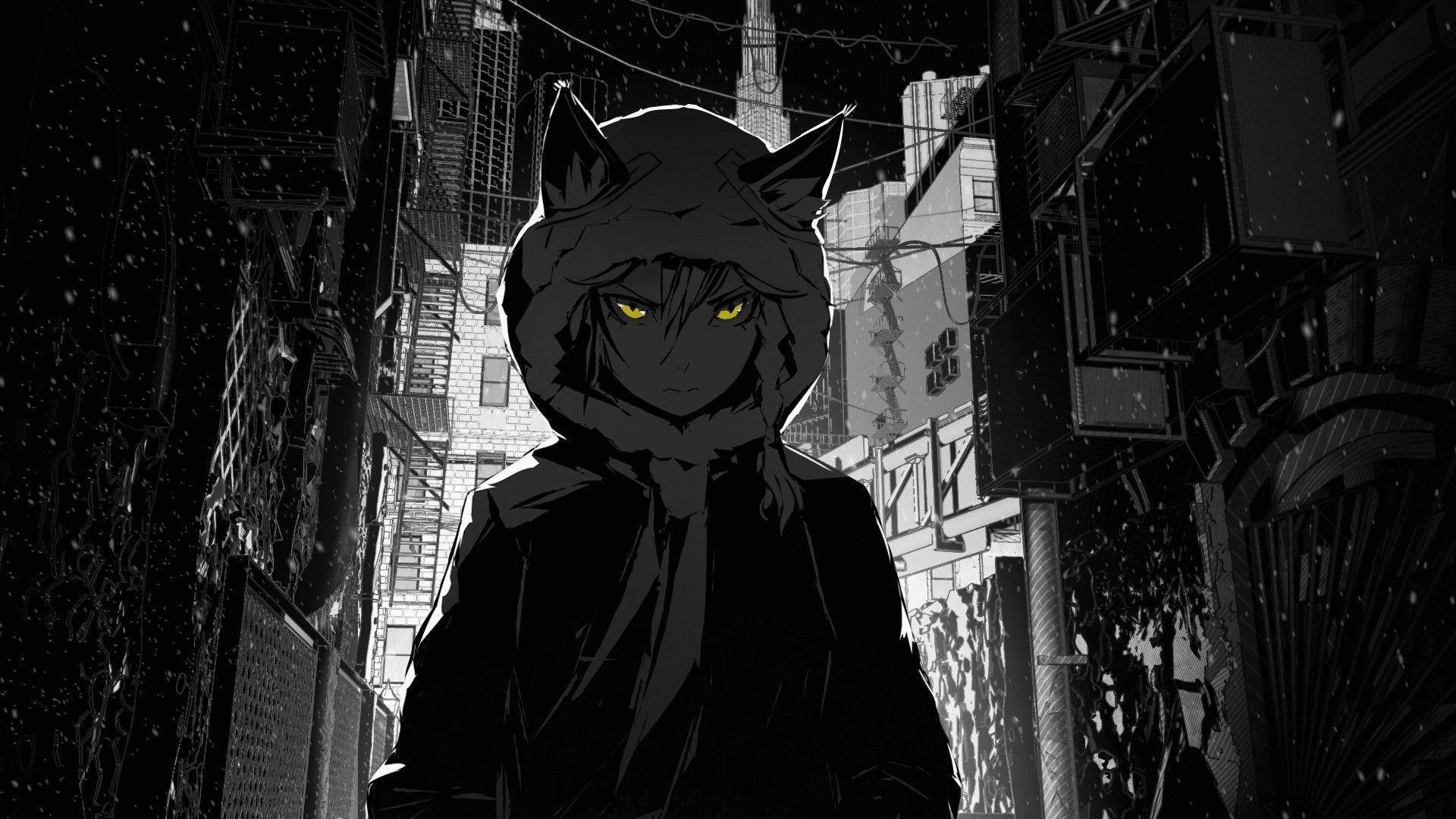 Black Aesthetic Anime Desktop Wallpapers Wallpaper Cave
