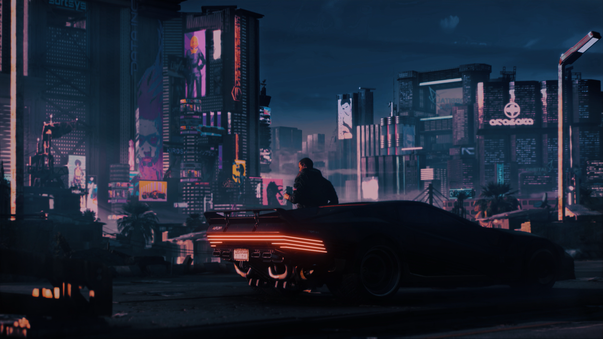 4k Cyberpunk 2077 Wallpapers Wallpaper Cave