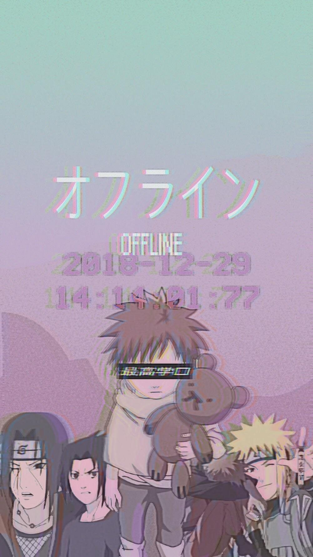 Sad Naruto Aesthetic Wallpapers Wallpaper Cave