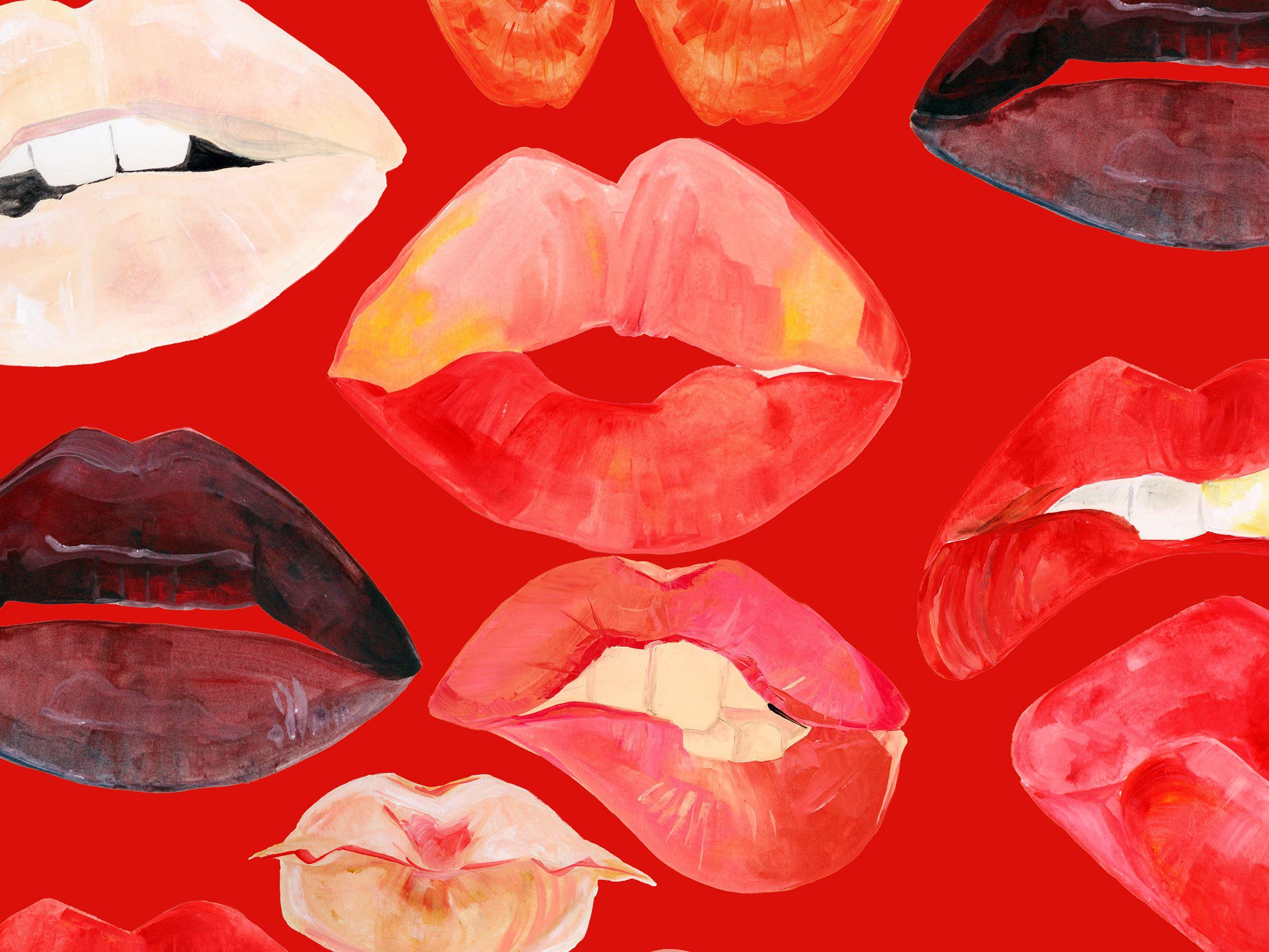 Lips Tumblr Wallpapers Wallpaper Cave