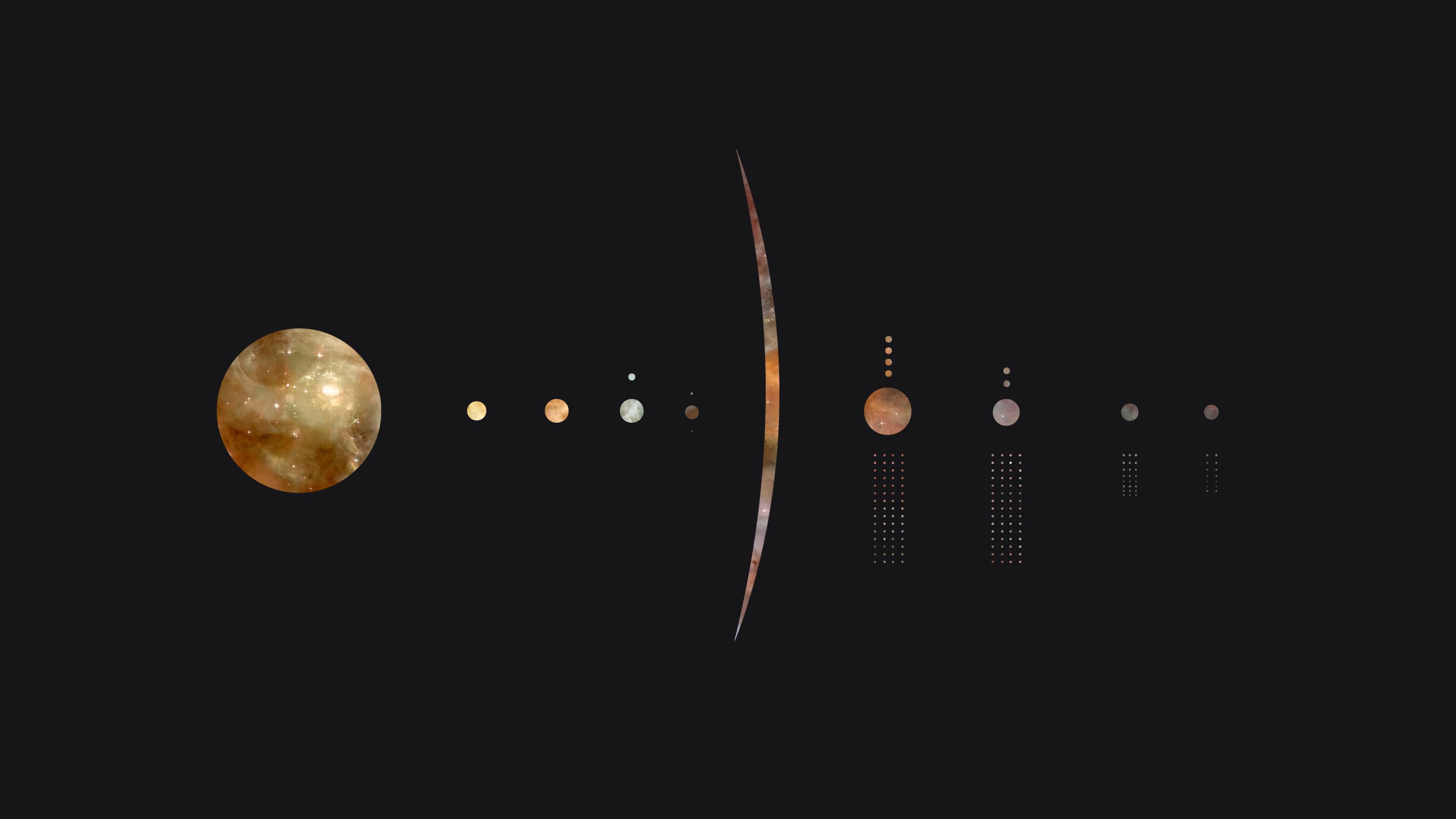 Minimal Solar System Hd Wallpapers Wallpaper Cave