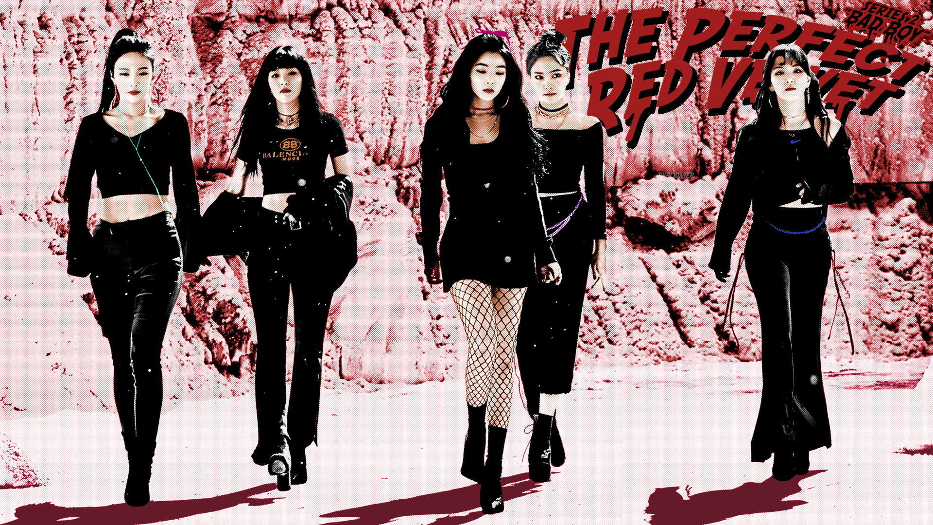 Red Velvet Bad Boy Desktop Wallpapers Wallpaper Cave