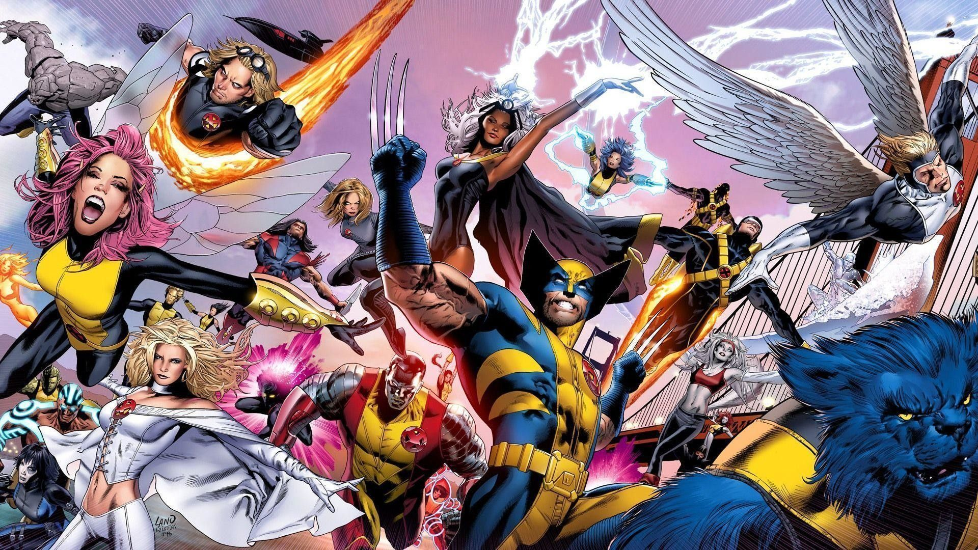 65+ Xmen Wallpapers