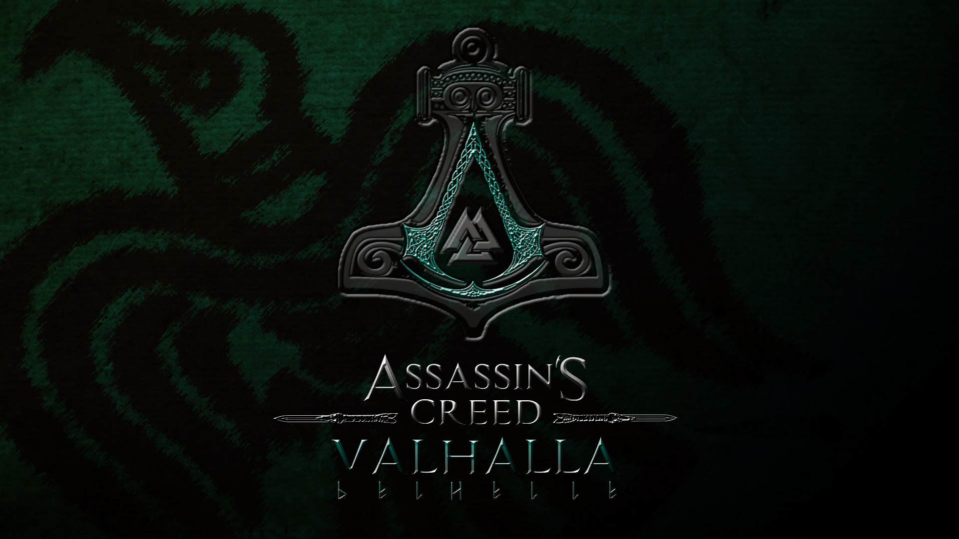 logo assassins creed valhalla symbol